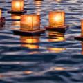 velas flotantes para piscinas