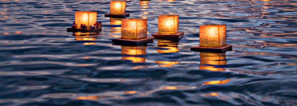 C mo decorar con velas flotantes - Como hacer velas flotantes ...