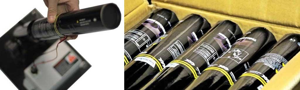 accesorios para cañones eléctricos de confeti