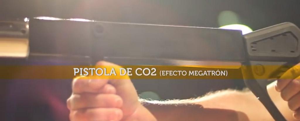 accesorios efecto Megatron