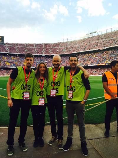 TodoConfetti en la Copa del Rey 2015