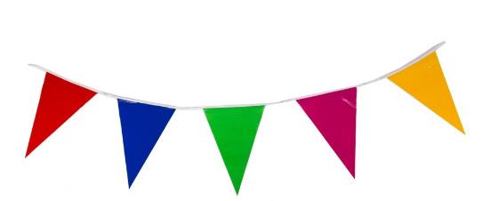Flecos y banderines