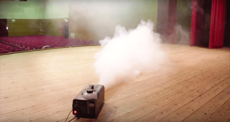 Máquina de humo