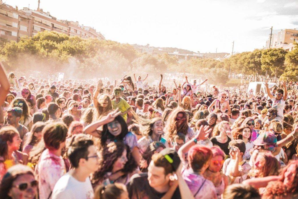 Fiesta holi VIladecans