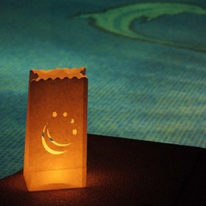 Bolsas de luz piscina