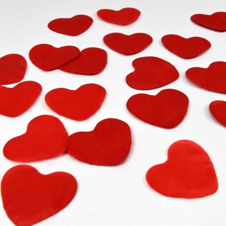 Confeti para bodas de corazones