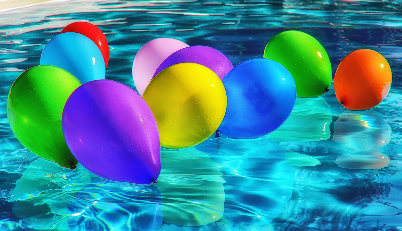 Globos piscina