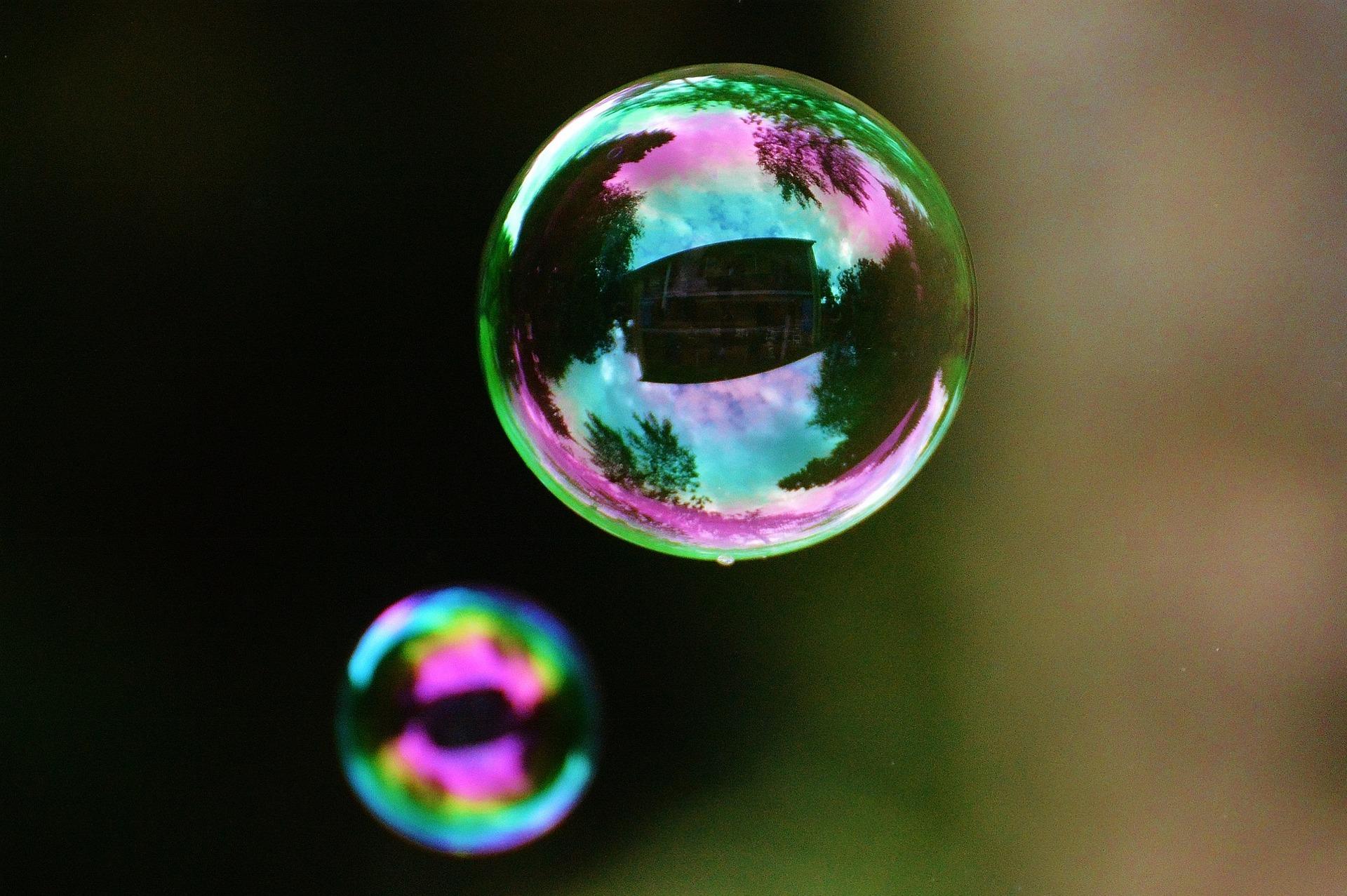 Cómo funciona la máquina de burbujas