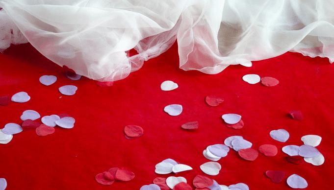 Confeti y serpentinas para bodas