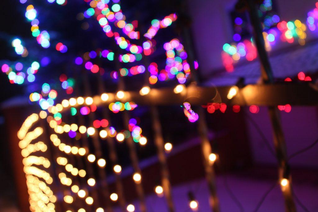 Casa en Navidad