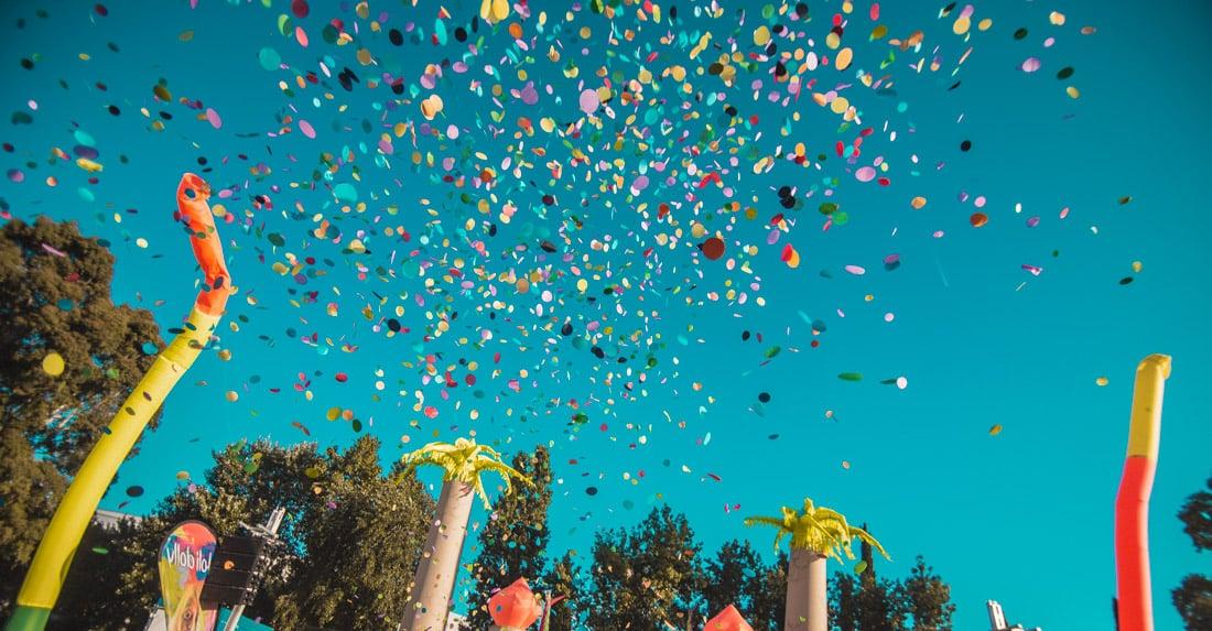 Confeti colores