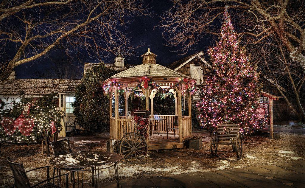 Decoración de casas en Navidad