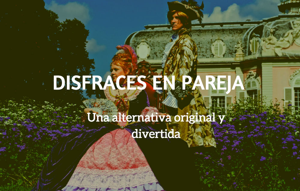 Disfraces en pareja, una alternativa original