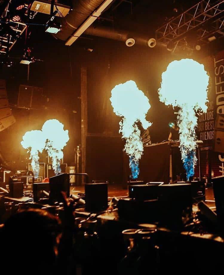 Máquina llamas