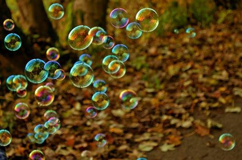 Viento burbujas