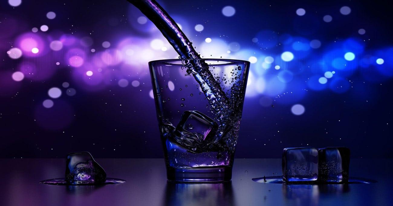 Bebida y comida fiesta