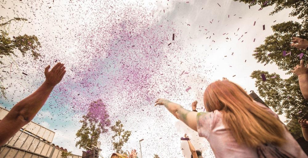 Confeti para fiestas y eventos
