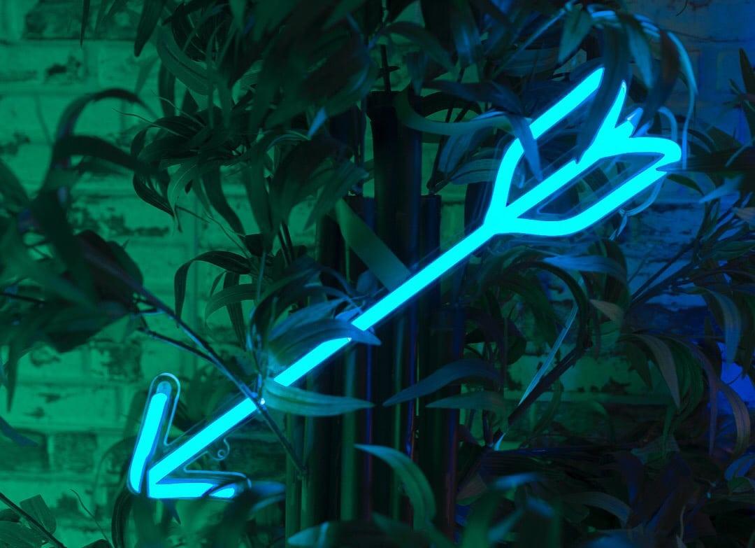 Lámpara LED Neon Arrow Flecha