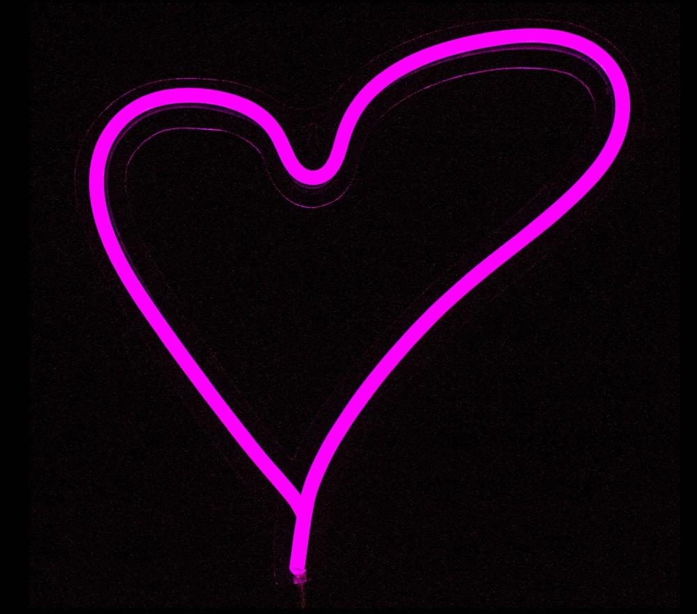Lámpara LED Neon corazón