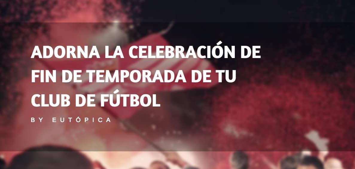 Fin de temporada club fútbol