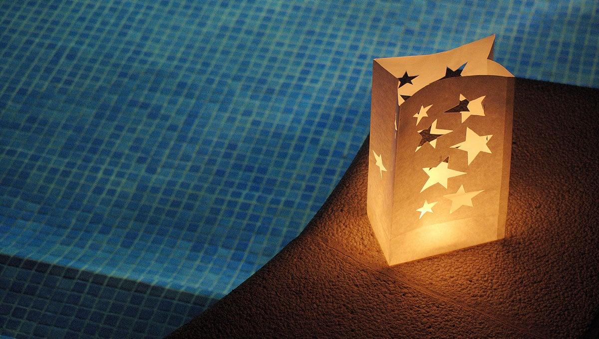 Bolsas de luz decoración verano