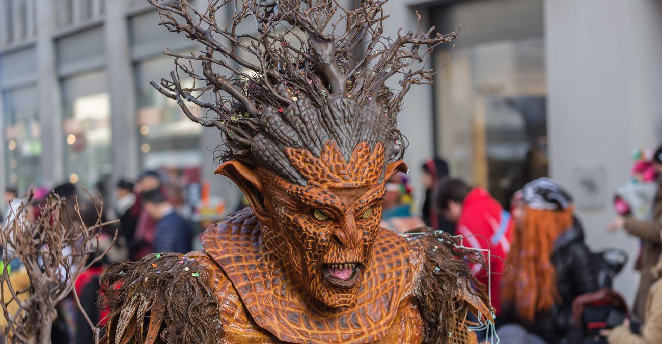 Máscara Carnaval
