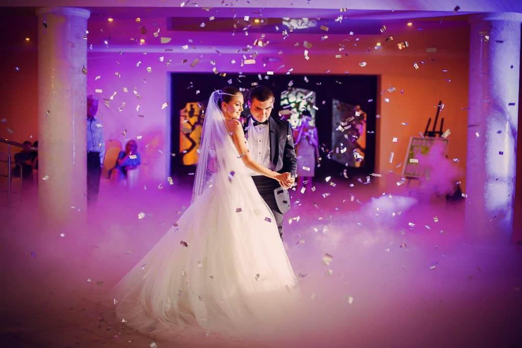 Confeti biodegrable para bodas